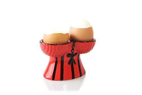 Lustiger Korsett Eierbecher mit sexy Oberteil